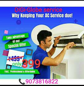 Di-Gi Globe AC servicing