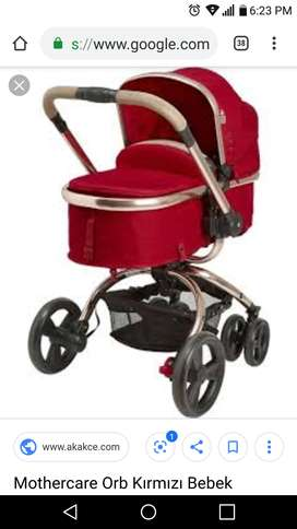 Branded mothercare orb stroller 2 in 1