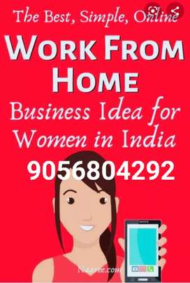 We give commitment that u can work from home and earn money
