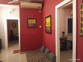 2bhk semi furnish flat sale 38lac