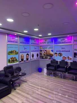 Semi furnished office