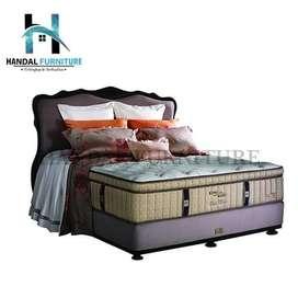PROMO! King Koil Set Kasur Spring Bed Grand Classic (160x200)