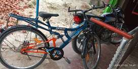 Tata stryder cycle only 3 month old dual disc break