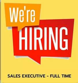 Looking Field Sales Executive.