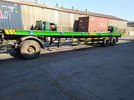 Dijual ekor trailer lantai 40f  harga 100jt