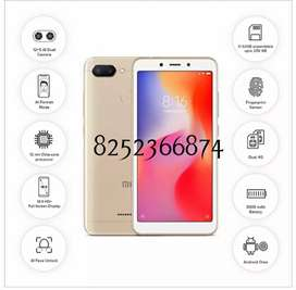REDMI 6 / 3 .64  Good condition  4 months Use  Only Mobile