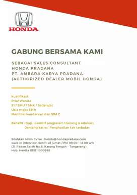 Lowongan sales & marketing