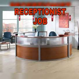 Walk for interview receptionist front office executive