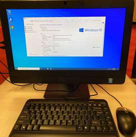 "Dell Core i5 All in One Pc With SSD 20"" Screen Web Cam Graphics Camer"