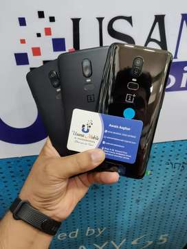 Oneplus6 128GB Brand new unused stock available USAMA MOBILE LAHORE
