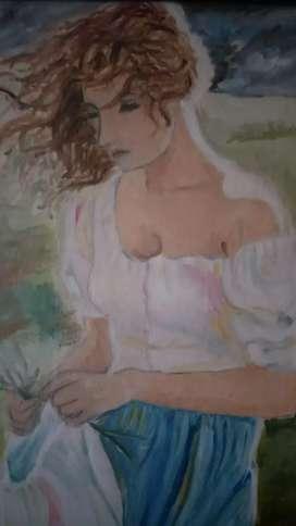 Hand maid painting