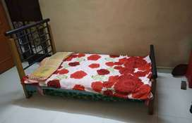 Single bed..