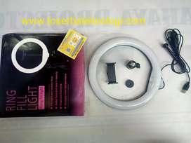Ring Light besar 2.6cm pluss holder hp