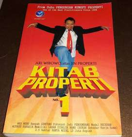 KITAB PROPERTI no 1 | Ari Wibowo alias Jin Properti