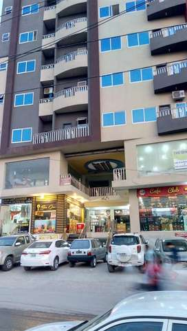 Commercial Flat For Sale Main Gulberg Road Peshawar