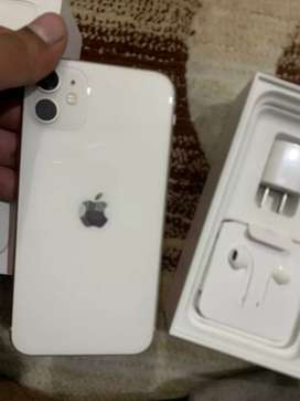 Iphone 11 physcial dual sim PTA Approved 128gb