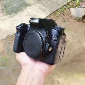 Body Canon 70D no minus