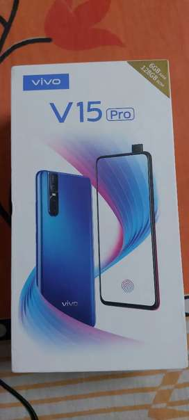 Vivo v15 pro 6/128 with warranty all accessries