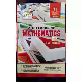K.C. Sinha Mathematics textbook, class 11