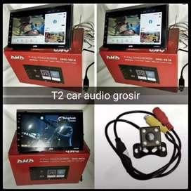 Hot promo 2din android asli DHD led 7inc ram 2gb+camera hd mumer gan