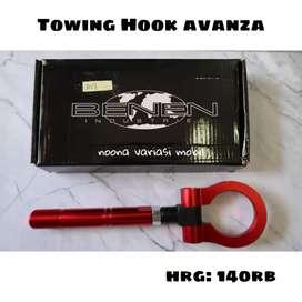 towing hook avanza xenia benen merah towing derek mobil avanza xenia