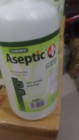 Aseptic plus with pump