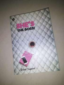 She's the boss novel by wiwi suyanti