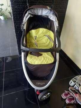 Preloved Stroller CocoLatte edisi pindah rumah