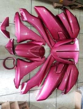 Body bagian halus nmax airbrush pink