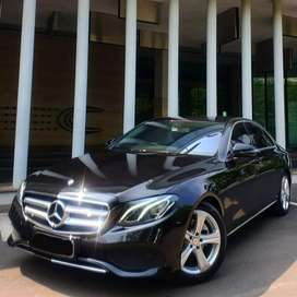 Fast Sale : Mercedes Benz E250 AVG NIK 2017 ODO 9.000