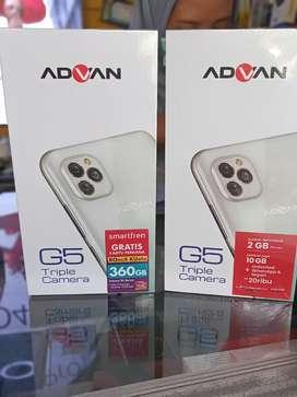 Advan G5 4/32gb garansi resmi 1th bisa TT
