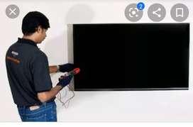 LED Smart Tv installation Technician