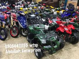 Special discounted stock atv quad 4 wheels home delivery all Pakistan
