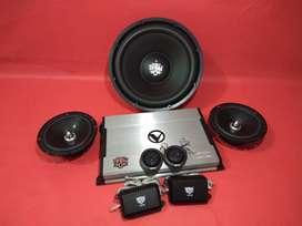 Paket Venom BABY DIABLO Power Subwoofer & Speaker split Plus Pasang