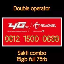 Nomor cantik telkomsel simpati double operator iklan 022
