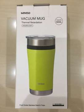 Vacuum Mug Stainless Steel - Miniso 580 ml