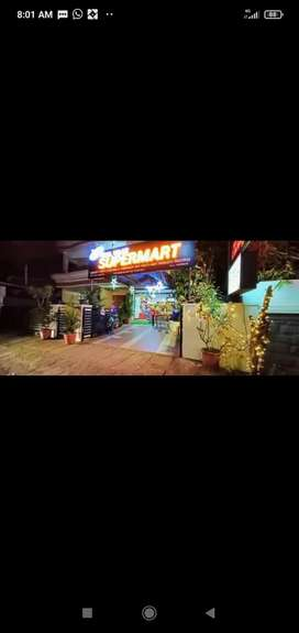 Well Maintained supermarket for sale