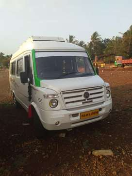 Tempo traveller AC Push Back 14 seater