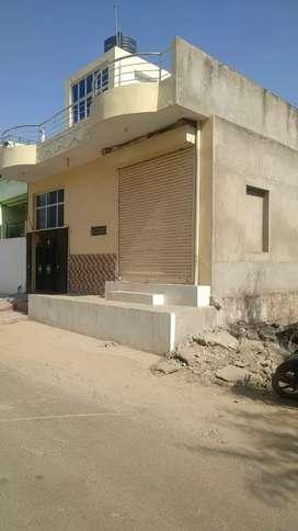 111 gaj Society patta, Makan, 1 shop, Shyam Vihar  5 number