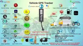 GPS TRACKER FOR BIKE TRUCK CAR WITH AUTO CUTOFF ENGINEOFFAPP BASED