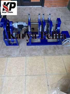 mesin pipa hdpe shds manual 200 4 clamp rotari presure gauge