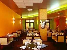 Fully furnished restaurant at Garia main road