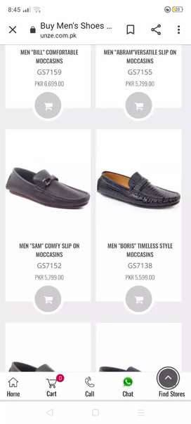 Original Price Rs. 5800 Unze Pure Leather Casual Loafers Shoes
