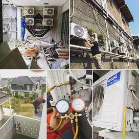 Tukar tambah AC bekas/baru-service-pengadaan-pemasangan