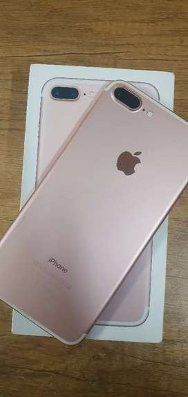 Iphone 7 Plus 256GB - Rose Gold Colour - 100% Condition  With Bill