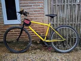 Jual sepeda MTB ,siap pakai !!