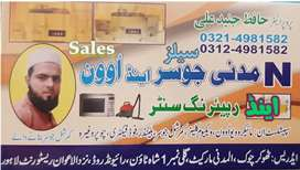All. Speclist in Juicer and microwave oven sale and Repairing cntre