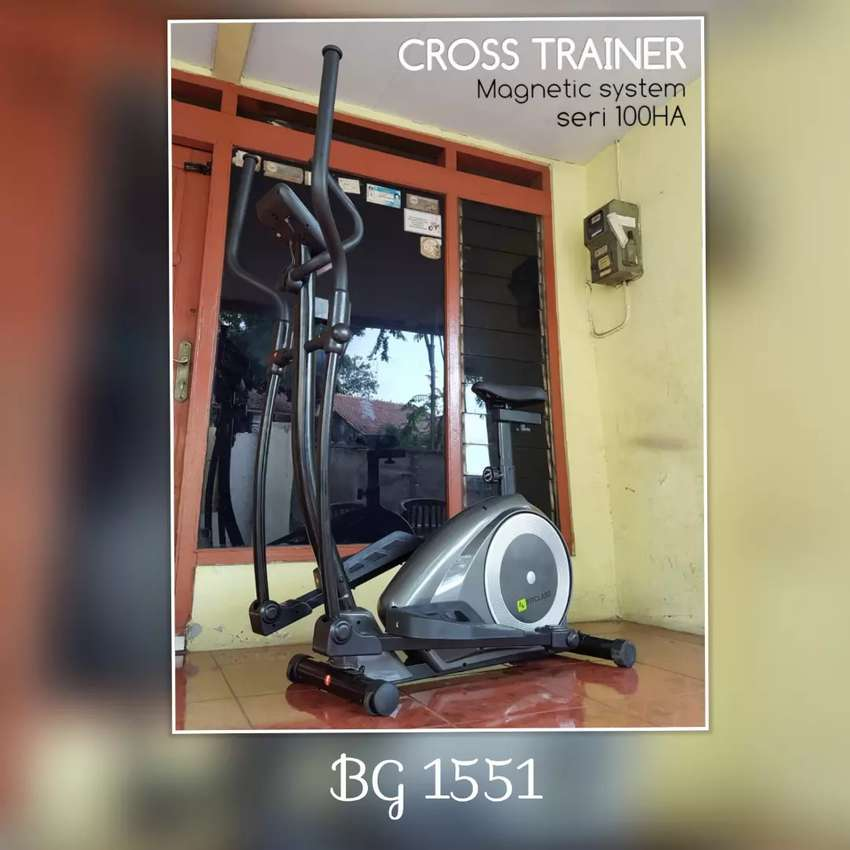 Sepeda Statis Elliptical Bike // Coumpour Gym 16.43 0