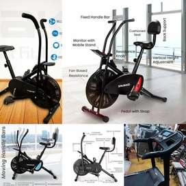 Exercise cycle.and treadmill