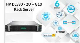 HP DL380 - 2U – G10 Rack Server Work Station and computer systems cpu